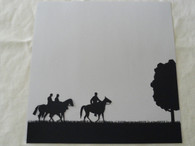 Cavalry Diecut Silhouette Scrapbooking