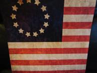 Revolutionary War Old Glory Flag Scrapbook Paper