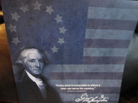Revolutionary War George Washington Scrapbook Paper