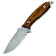 "DPx H.E.F.T. 4 Woodsman DPHFX001 Fixed Blade Knife, 4"" Plain Edge Blade, Sheath"