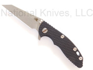 "Rick Hinderer Knives XM-18 Wharncliffe, 3"" S35VN Blade, Black G-10"