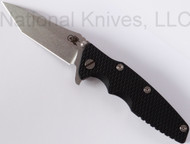 "Rick Hinderer Knives Eklipse Tanto, 3.5"" S35VN Plain Blade, Black G-10"