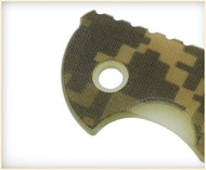 """Rick Hinderer Knives Folding Knife Handle Scale for XM-18 - 3"""", ACU Camo"""