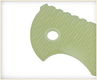"Rick Hinderer Knives Folding Knife Handle Scale for XM-18 - 3.5"", Translucent Green"