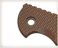 "Rick Hinderer Knives Folding Knife Handle Scale for XM-24 - 4"", Flat Dark Earth (FDE)"