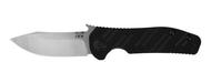 "Zero Tolerance/Emerson 0630 Knife, 3.6"" Plain Edge S35VN Blade, Black G-10 and Titanium Handle"