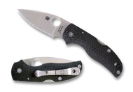 "Spyderco Native 5 C41CFFP5 Folding Knife, 3"" Plain Edge CPM-S90V Blade, Fluted Carbon Fiber Handle"