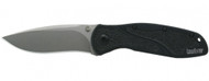 "Kershaw Blur 1670S30V Assisted Opening Folding Knife, 3-3/8"" Plain Edge S30V Blade, Black Handle"