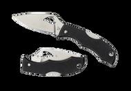 "Byrd Starling 2 BY12GP2 Folding Knife, 1.937"" Plain Edge Blade, Black G-10 Handle"