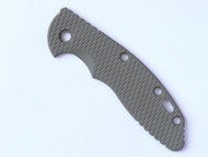 "USED - Rick Hinderer Knives Folding Knife Handle Scale for XM-18 - 3.5"", Olive Drab (OD) Green"