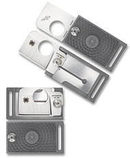 "Spyderco Squarehead C193PGY Folding Knife, 1.312"" Plain Edge Blade, Gray FRN Handle"