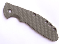 "USED - Rick Hinderer Knives Folding Knife Handle Scale for XM-24 - 4"", Olive Drab (OD) Green"