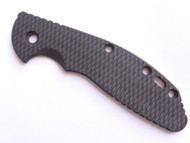 "USED - Rick Hinderer Knives Folding Knife Handle Scale for XM-24 - 4"", Black"