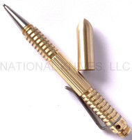 Rick Hinderer Knives Extreme Duty Ink Pen, Brass