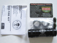 ESEE Advanced Fire Kit, Compass, Anodized Aluminum, USA Only Model