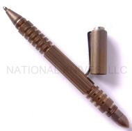 Rick Hinderer Knives Investigator Ink Pen, Titanium, Bronze