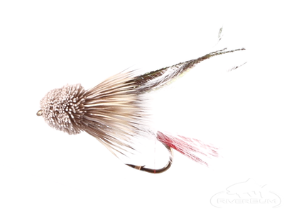 Muddler Minnow, Marabou, White