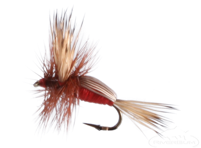 Humpy, Red, Brown Hackle