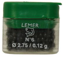 Lemer Lead Split Shot Sinker