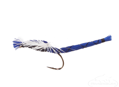 Damsel Fly, Parachute, Blue