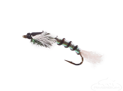 Chironomid Pupa, Emerger, Black Rib