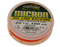 Cortland Micron Fly Line Backing 12Lb/20Lb, 100yds