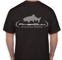 RiverBum Black T-Shirt