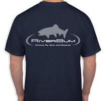 RiverBum Navy T-Shirt