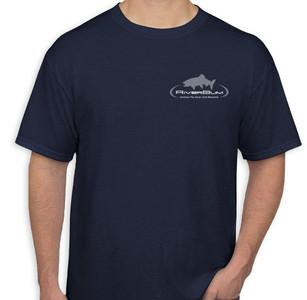 RiverBum navy tshirt