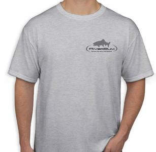 RiverBum gray tshirt