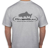 RiverBum gray t-shirt