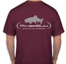 RiverBum Burgundy T-Shirt