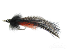 Bullethead Baitfish-Black/White