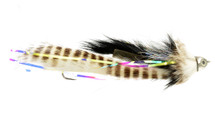 Dolly Llama Black / White Streamer Fly