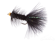 Wooly Bugger, Bead Head, Black Fly Fishing Fly