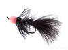 Leech, Egg Sucking, Black, Salmon Hook