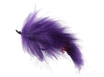 Bunny Leech, Purple, Salmon Hook