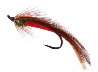Matuka, Dark Spruce, Salmon Hook
