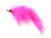 Bunny Leech, Pink, Cone Head, Salmon Hook