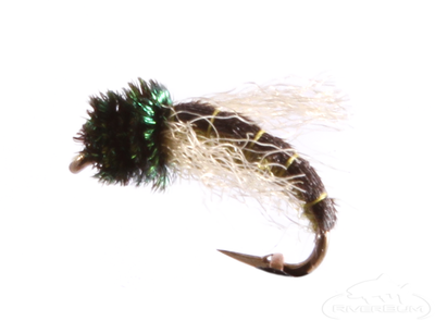 Caddis Pupa, Z-Wing, Green