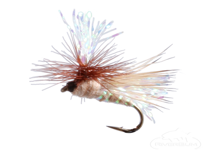 Crystal Flash Caddis Tan
