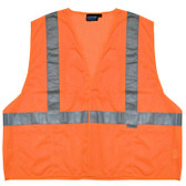 14519 ERB S15 Class 2 Mesh Hi Viz Orange Large Safety Apparel - Aware Wear & Hi Viz Ts