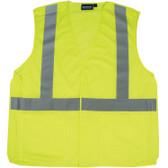 61103 ERB S320 Class 2 Mesh Break-Away Hi Viz Lime 2X Safety Apparel - Aware Wear & Hi Viz Ts