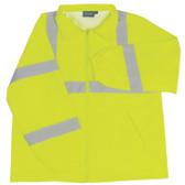 61575 ERB S374 Class 3 Windbreaker Hi Viz Lime 4X Safety Apparel - Aware Wear & Hi Viz Ts