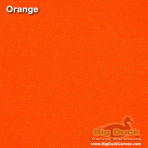 Florida Orange 10oz Duck - 20 Yard Bolt