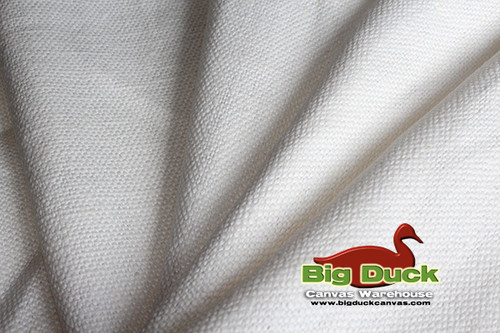 "12oz/54"" 100% Hemp Canvas Fabric - Chalk White - Closeouts"