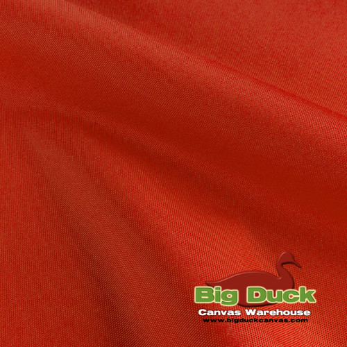 denier coated polyester canvas fabric orange