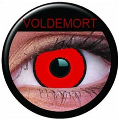 ColourVue Crazy Lens Coloured Contact Lenses - Voldemort