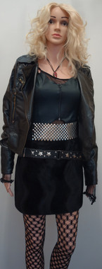 Women's Punk Costume for Hire (Nancy Spungen)
