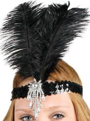 1920's flapper headdress, headband
